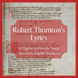 Robert Thornton's Lyrics